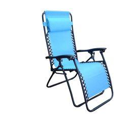 Groovy Garden Treasures Blue Folding Patio Zero Gravity Chair Cjindustries Chair Design For Home Cjindustriesco