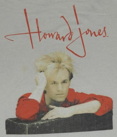 Vintage Howard Jones T-Shirt. Very good pre-owned condition.