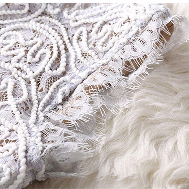7c5c36d44533 Vestidos Lace Dress Elegant Women Short Prom Office Slim Party Dresses  Summer 2018 Casual Beach Dress