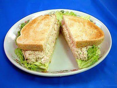 Receta fácil de sandwiches de atún - Chef de Lujo