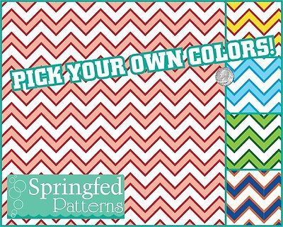 Chevron Stripes Pattern Vinyl 2 Craft Decal Sheets Scrapbook Custom