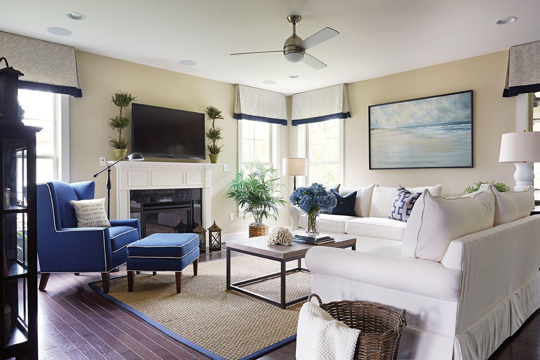Trevina Fan and Living Room Lighting
