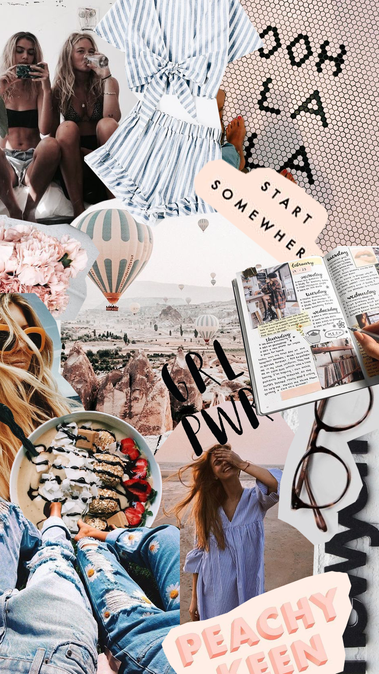 Travel Aesthetic Travel Collage Collage Background Cute Wallpapers
