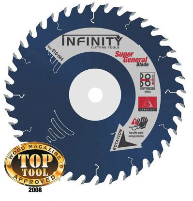 10 Super General Saw Blade 40t 5 8 Arbor 125 Kerf Sale 99 90 Table Dado