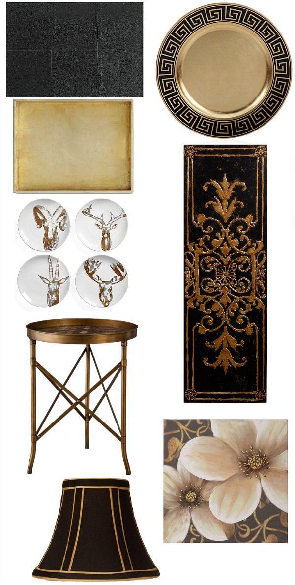 Saintsational Black And Gold Home Decor #homedecor #interiors #Saints