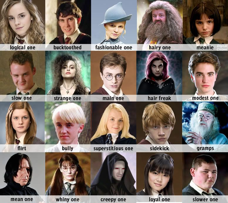 Harry Potter Cast Harry Potter Characters Harry Potter Characters Names Harry Potter Zodiac