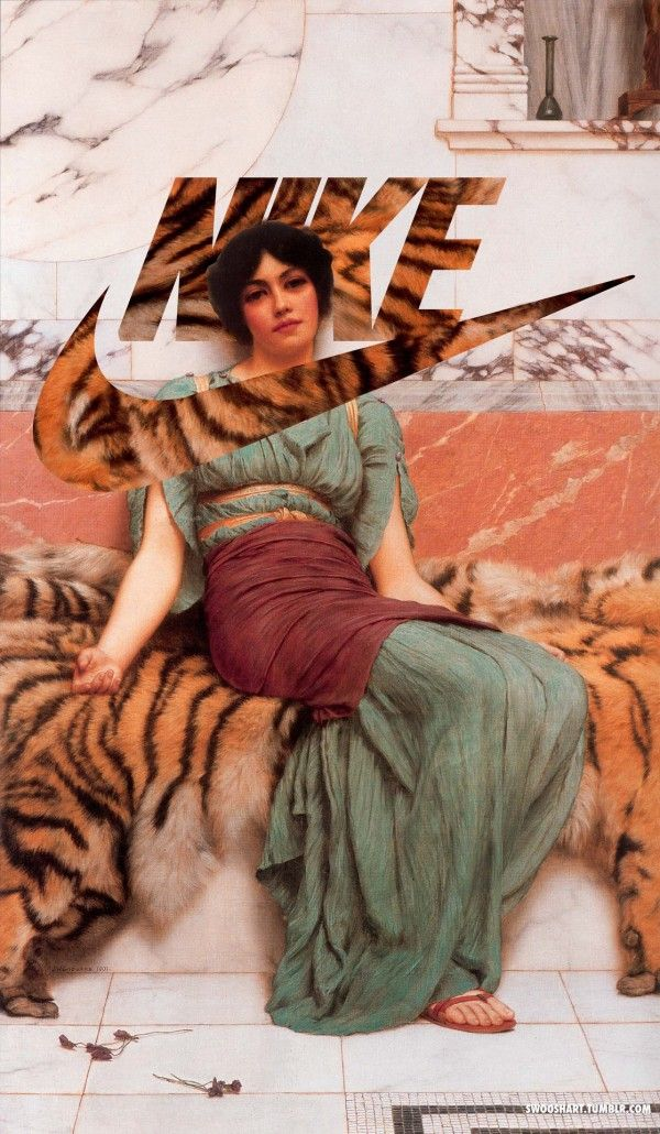 Nike Swoosh Art | Branding | John william godward, Classical art