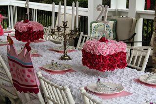 princess table setting | Princess | Pinterest | Princess