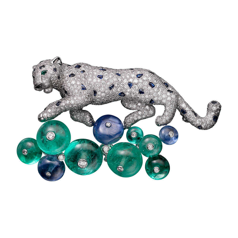 and jewelrix flora fauna en brooch cartier home
