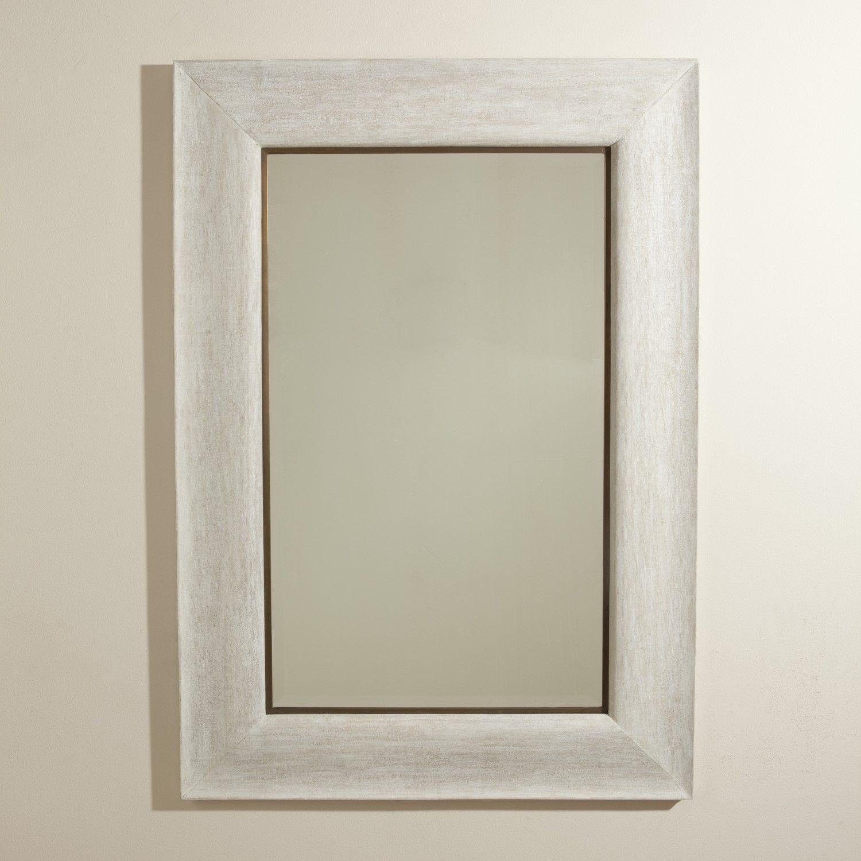 Toile Linen Mirror Mirror Wall Mirror Wall Bedroom Wall Mirror With Shelf