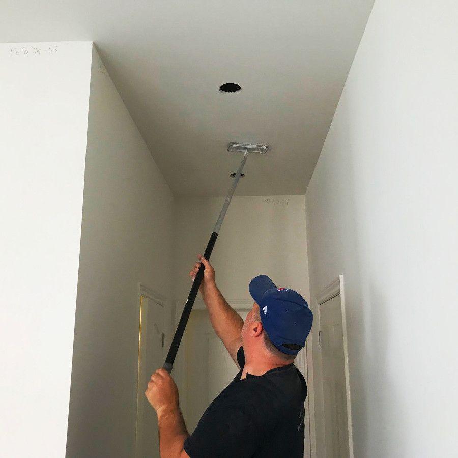 Popcorn Ceiling Removal Plaster Restoration in 2020