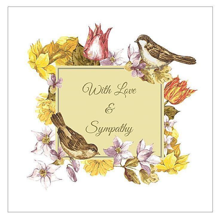 Free Sympathy Card Artwork Google Search Condolence Card Free Printable Birthday Cards Sympathy Cards