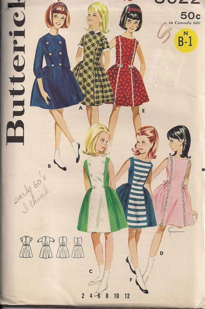 Basic princess style panel dress patterns