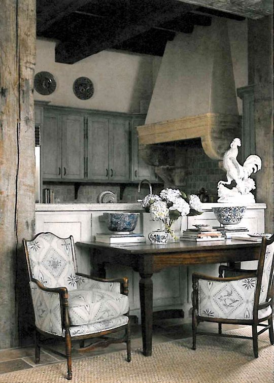 Beautiful And Charming French Country Kitchen Decor Ideas