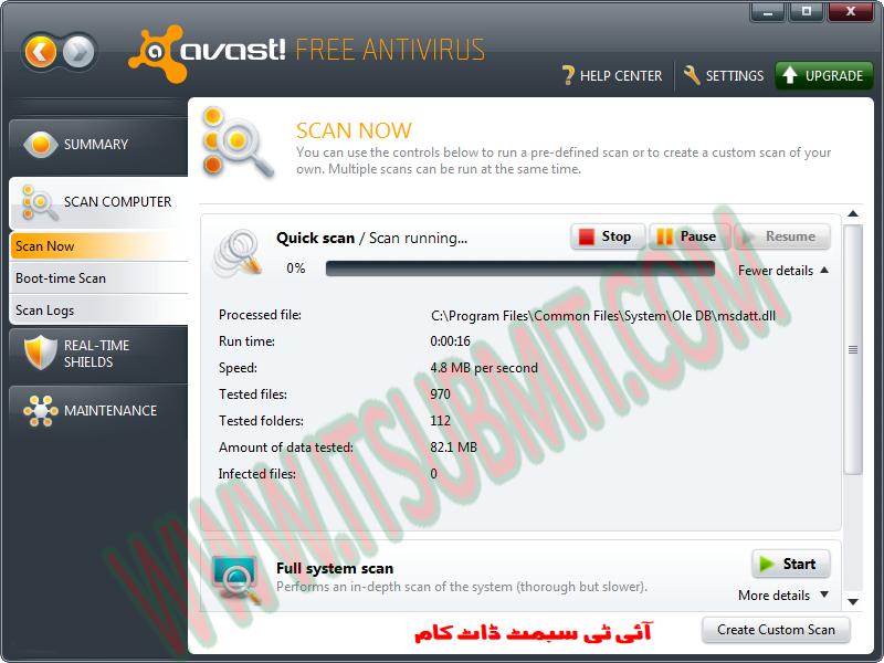 Title Avast! Free Antivirus 9.0.2011 Filename avast_free