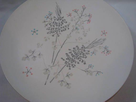 Lot of 8 Vintage Boontonware Melmac Dinner Plates Lily of the & Lot of 8 Vintage Boontonware Melmac Dinner Plates Lily of the | Etsy ...