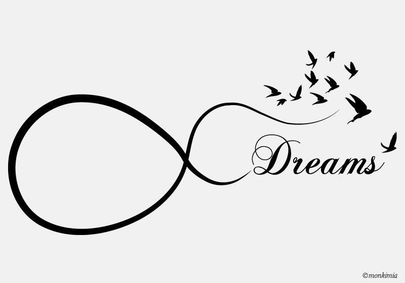 Möbeltattoos - Möbeltattoo Dreams - UNENDLICH - ein Designerstück von Monkimia bei DaWanda