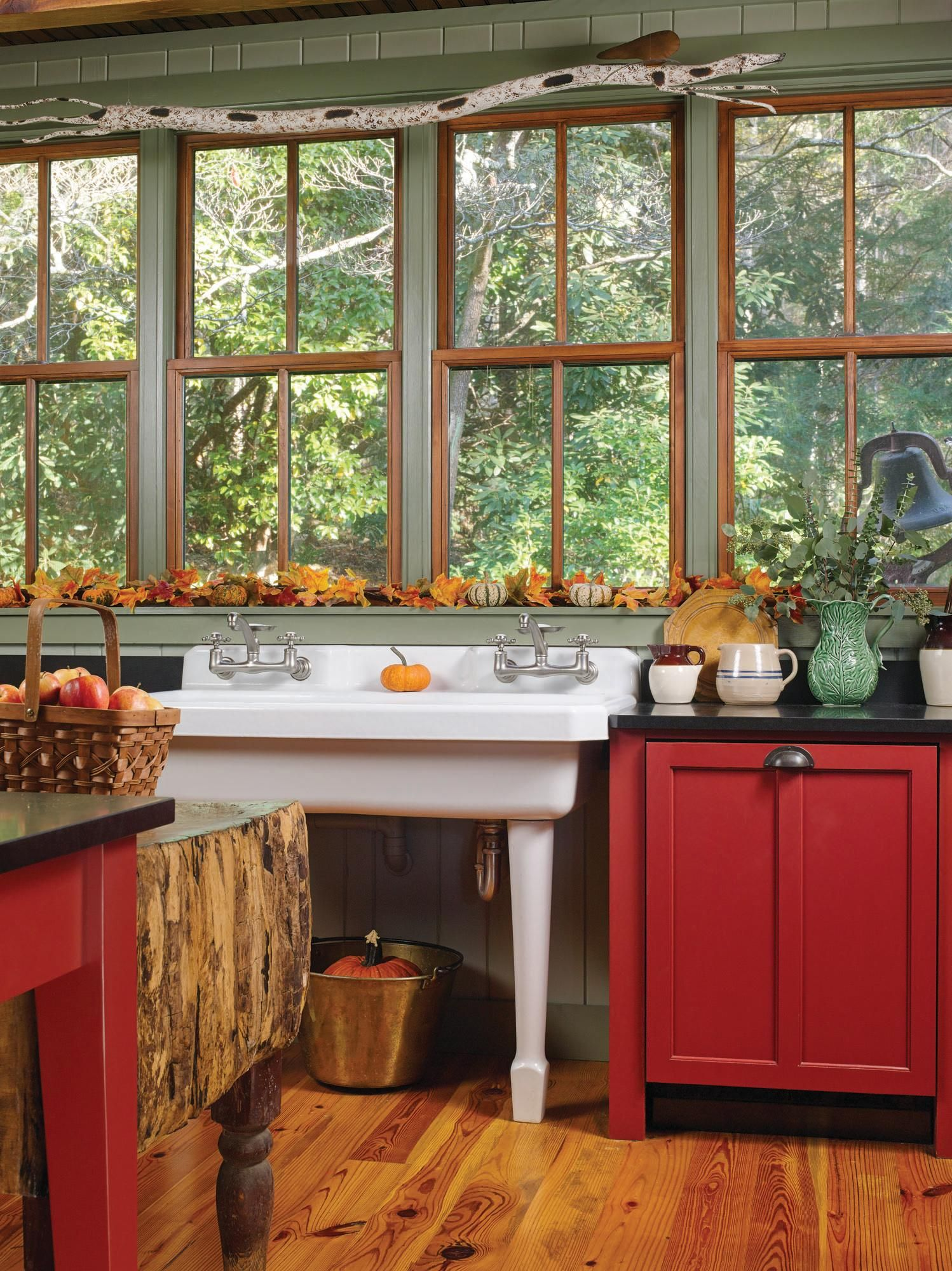 Apothecary Styled Kitchen Renovation Pinterest