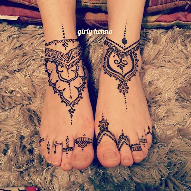 Feet Design My Style Mehndi Henna Designs Henna
