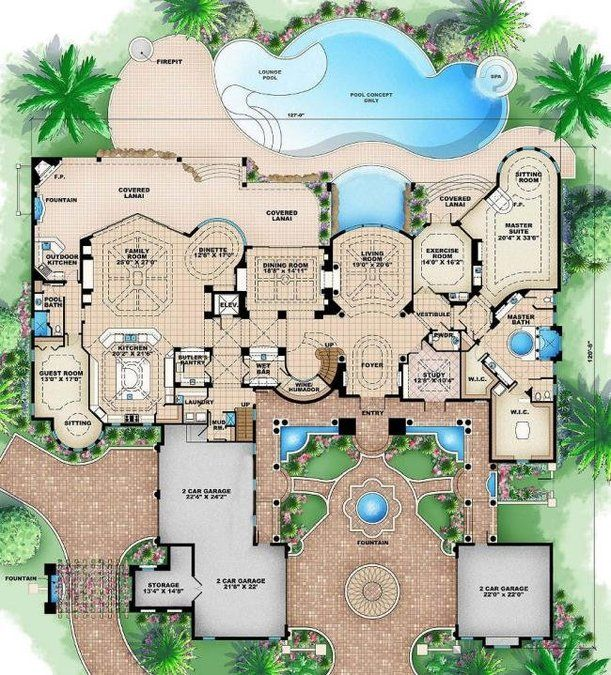 5 Bedroom 5 Bath Coastal House Plan ALP 089L