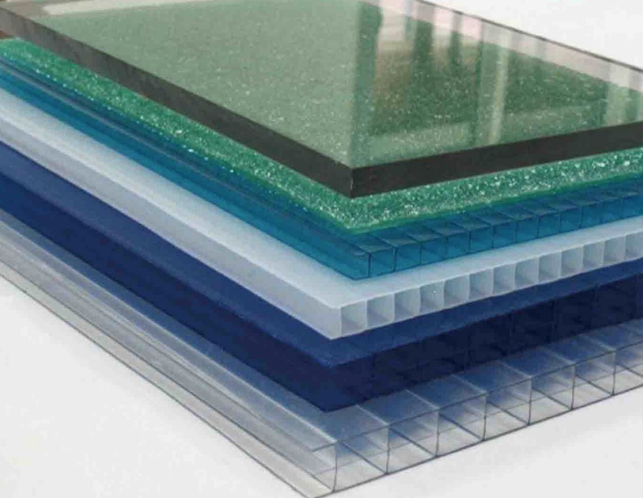 Transparent and Colored Polycarbonate Sheet Stock | Materials ...