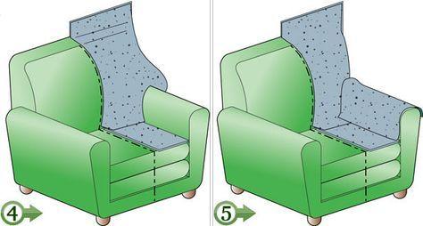 Rifoderare Divano ~ Rifoderare poltrone e divani progetti di cucito