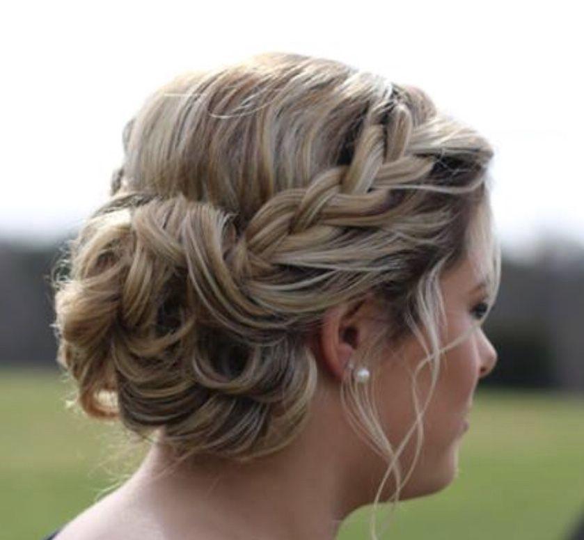 Prom Hair Wedding Hair Formal Hair Braid Low Side Bun Curled Prom Hair Bun Bun Hairstyles Wedding Hair Side
