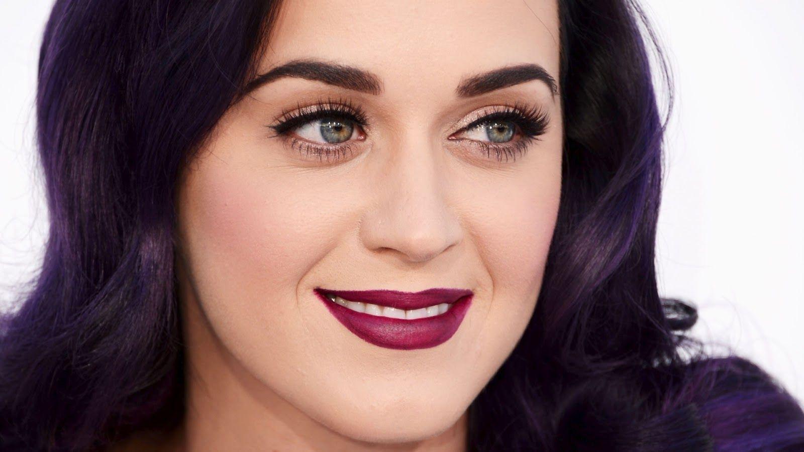 Purple hair - Katy Perry