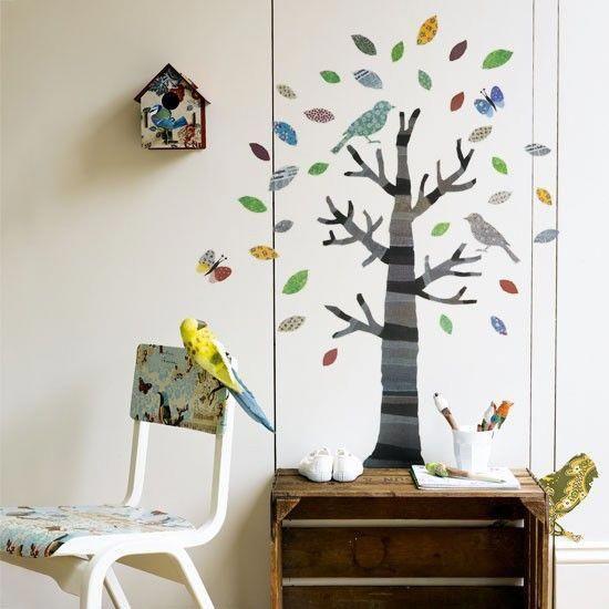 Woodland-themed children\u0027s bedroom Children\u0027s bedroom ideas - Childrens Bedroom Ideas