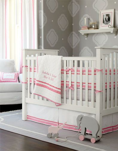 find this pin and more on baby kendall fixed gate crib pottery barn kids - Pottery Barn Babies Room