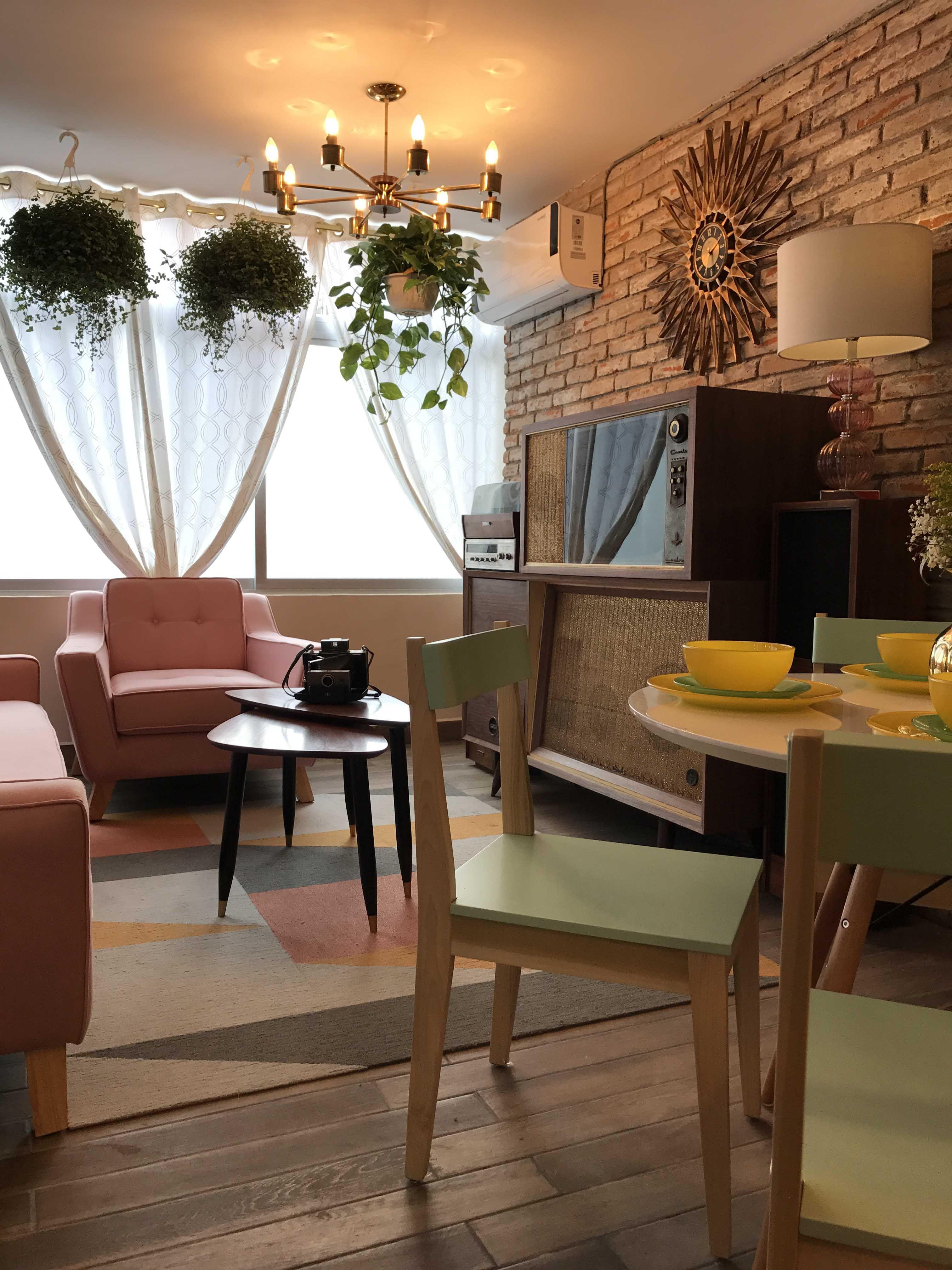 Diseño Interior Sala Comedor Vintage | Diseño de Interior ...
