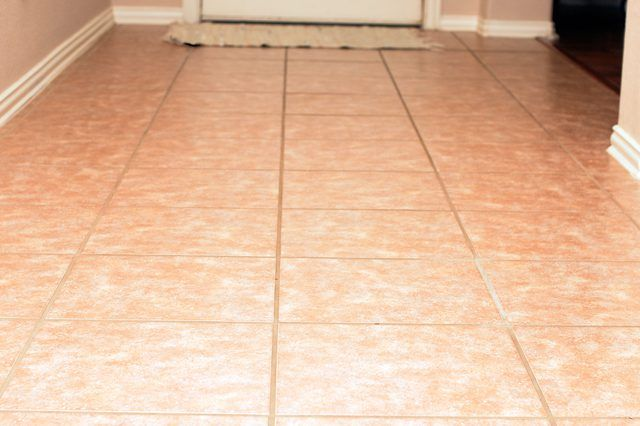 How To Clean Ceramic Tile Floors With Vinegar Hunker Cleaning Ceramic Tiles Tile Floor Ceramic Floor Tiles