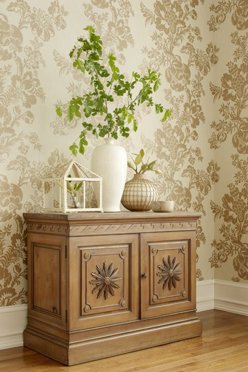 Stroheim Chapman Nonwoven Wallcovering In Fawn Home Decor