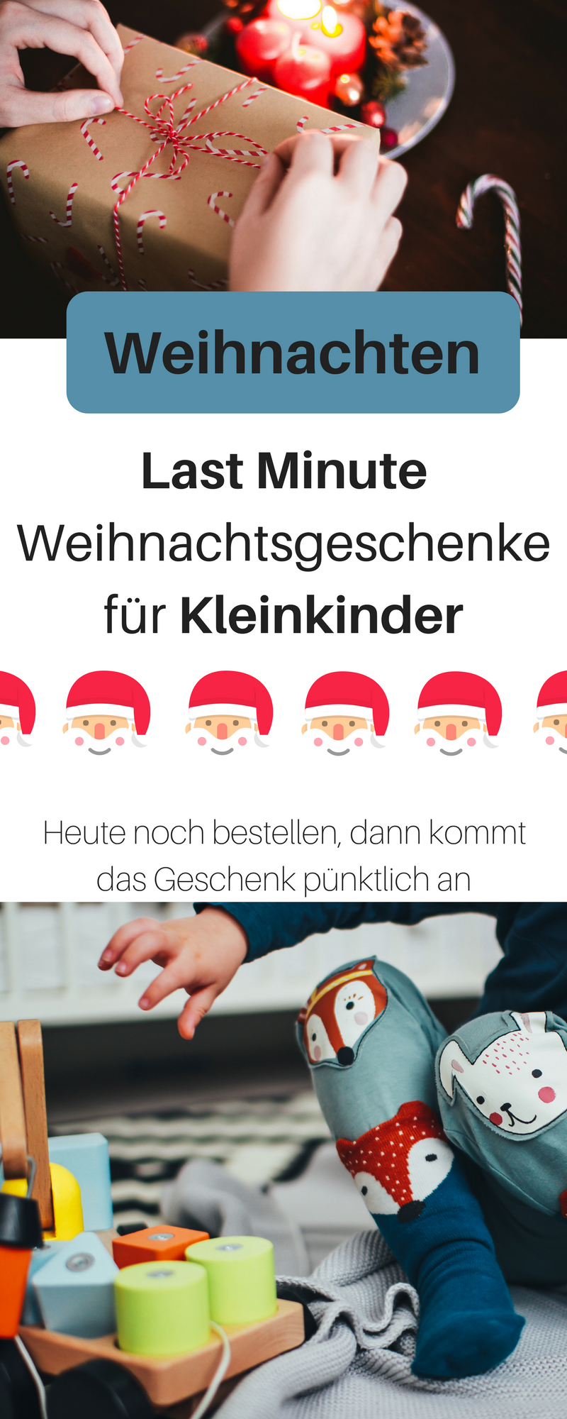 Sinnvolle Weihnachtsgeschenke für Kleinkinder zwischen 1-3 Jahren