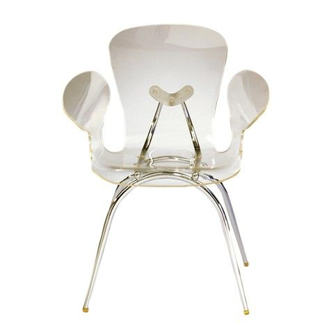 130 Target Lumisource Acrylic Dining Chair Clear Acrylic