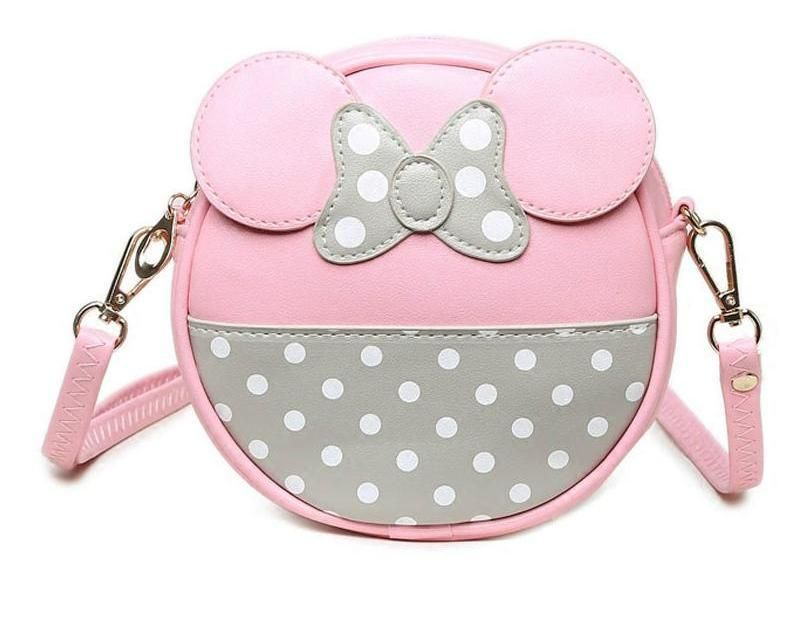 New Mickey Mouse Women Mini Small single shoulder bag Crossbody Bag Purse Wallet