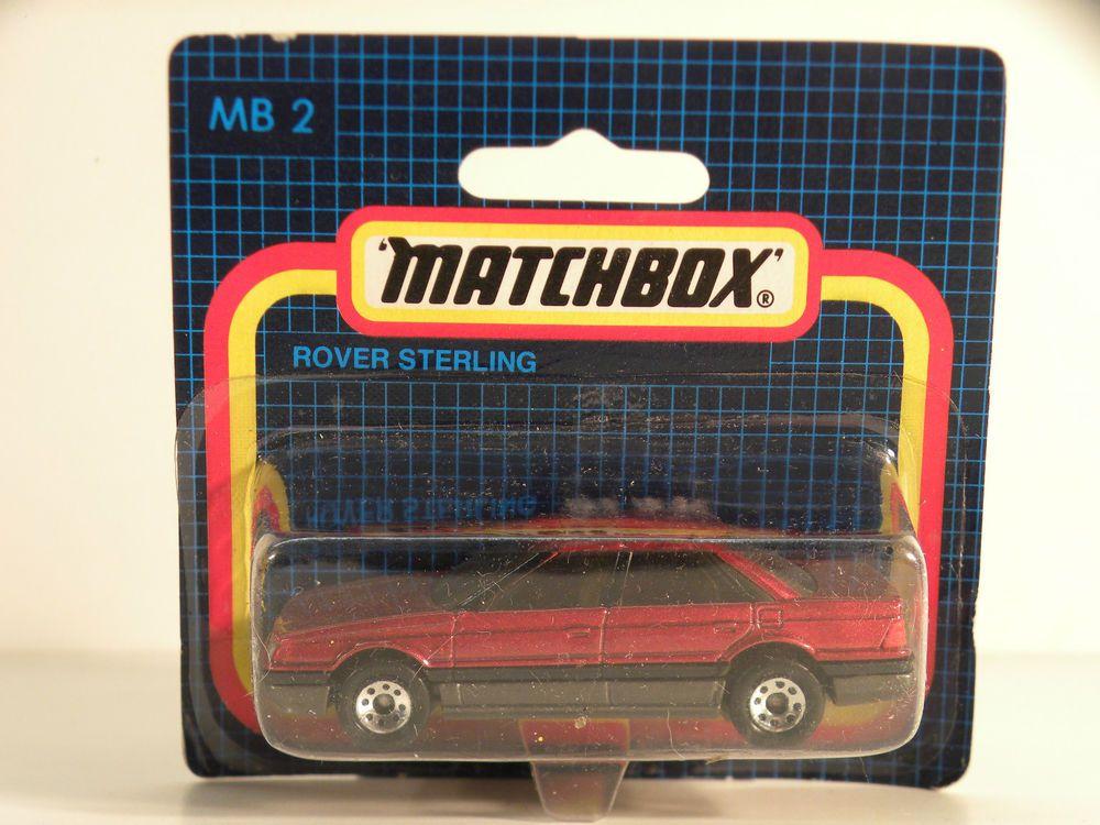 Matchbox Lesney Mb2 Rover Sterling 1 64 Scale Vtg Diecast Model Mib Nos Matchbox Diecast Models Diecast