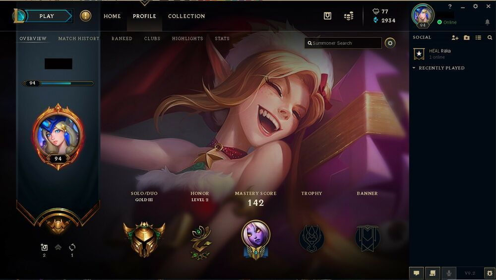 League of legends account gold III EUNE - all irelia skins