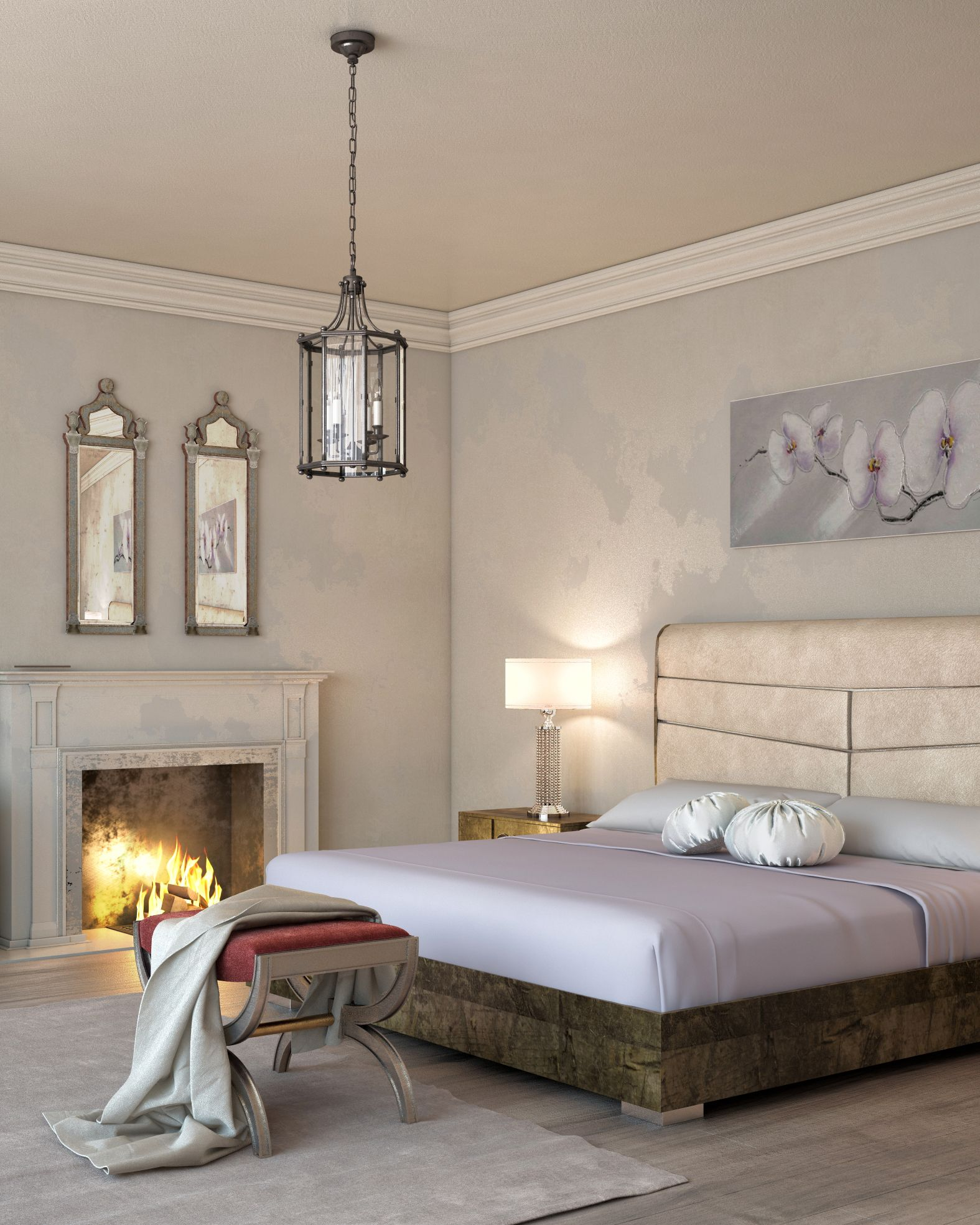 Shop this affordably luxurious Italian bed to set your