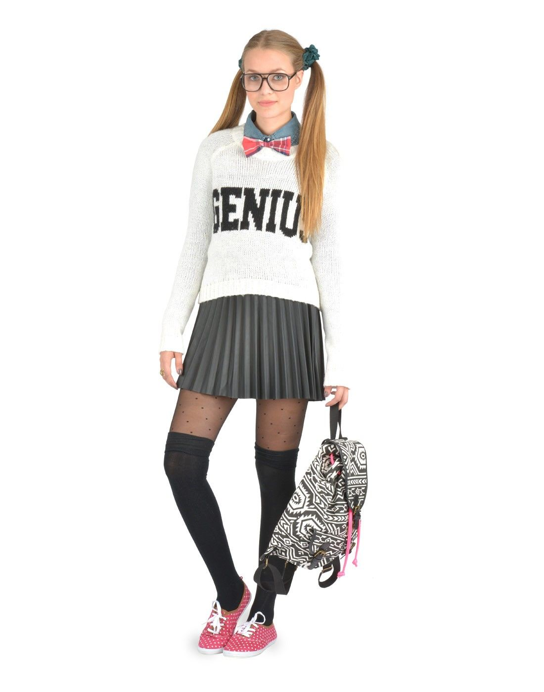 Geek-chic costume  Ardene - Geek Outfit Idea - For our Geek Party
