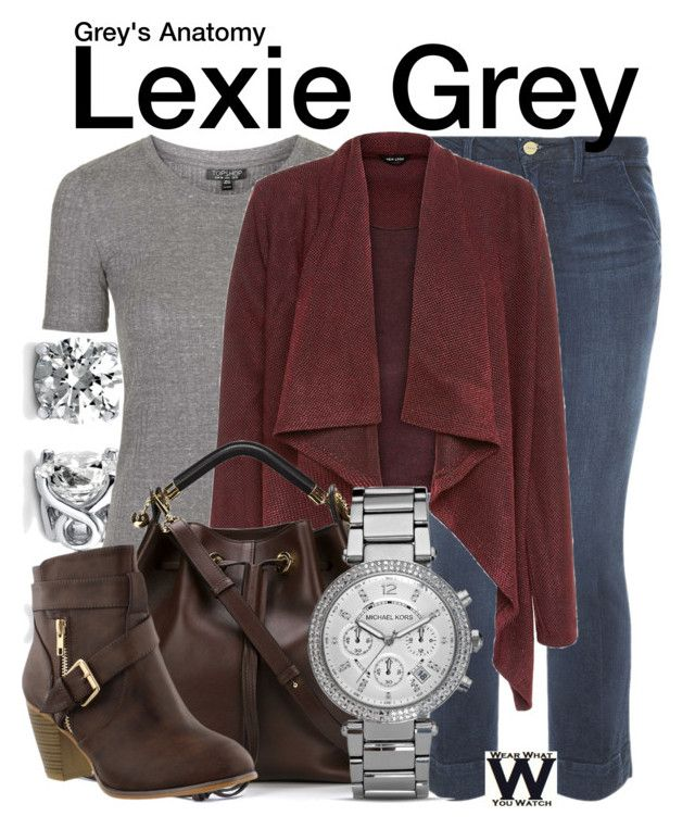 """Grey's Anatomy"" by wearwhatyouwatch ❤ liked on Polyvore featuring Frame Denim, BERRICLE, Topshop, Chloé, MICHAEL Michael Kors, women's clothing, women, female, woman and misses"