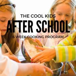 Kids Classes Ages 7-14 | Way Cool Cooking School