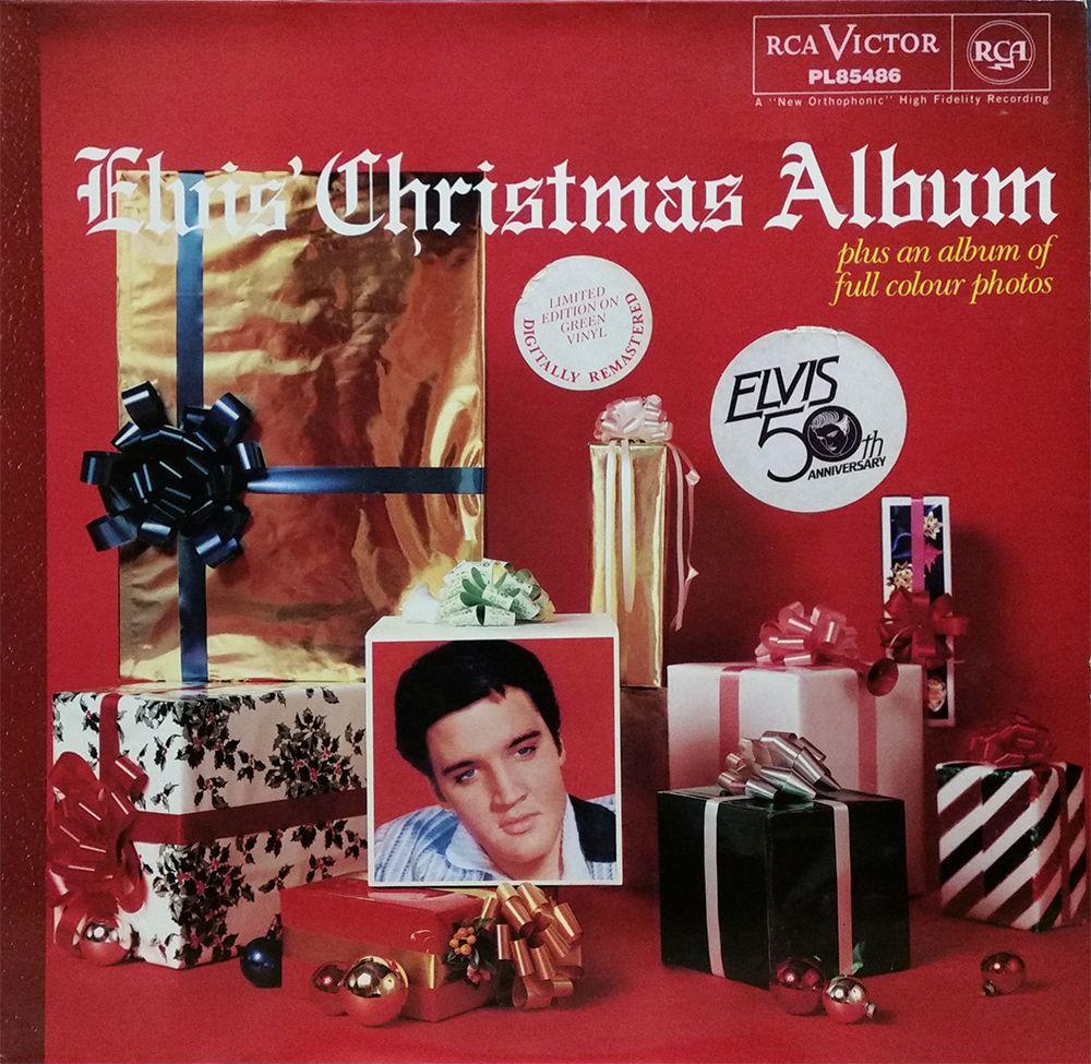 Elvis Christmas Album.Elvis Christmas Album Green Vinyl Elvis Love Elvis