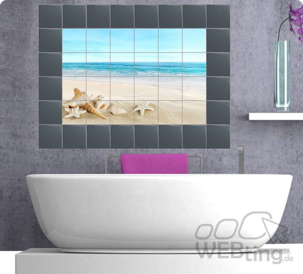 Fliesenaufkleber Fliesenbild Fliesen Aufkleber Kachel Badezimmer
