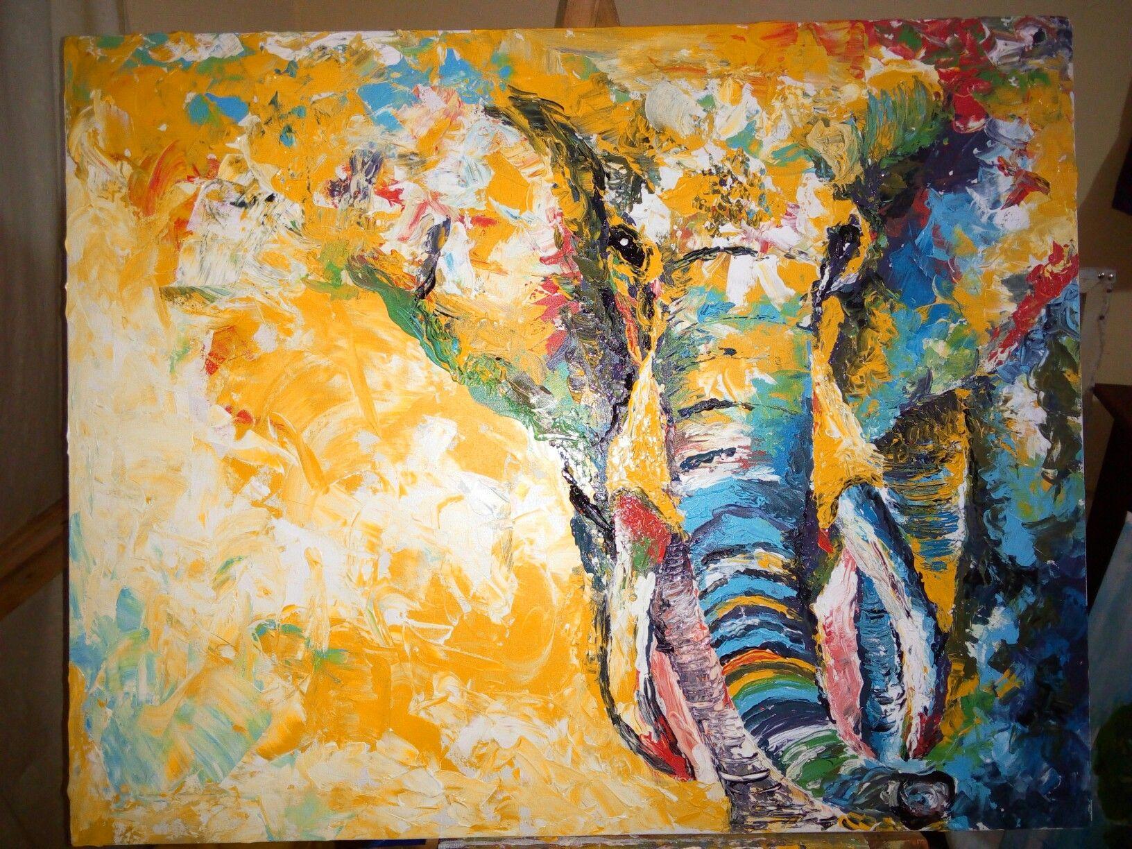 Likeknsqarts Follow@ Ampumuza Acrylic Painting