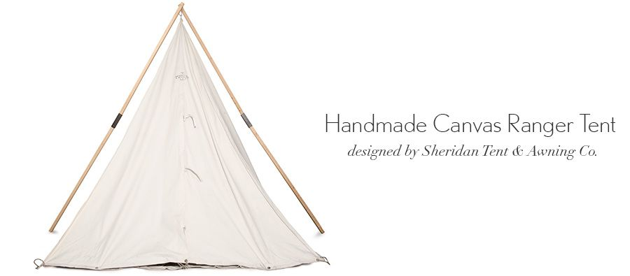 Handmade Canvas Range Tent - Kaufmann Mercantile  sc 1 st  Pinterest & Handmade Canvas Range Tent - Kaufmann Mercantile | things ...