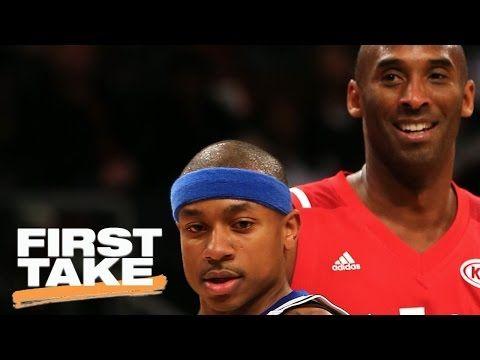 Is Kobe Bryant Best For Giving Advice To Isaiah Thomas First Take May 4 2017 Youtube Kobe Bryant Kobe Isaiah Thomas