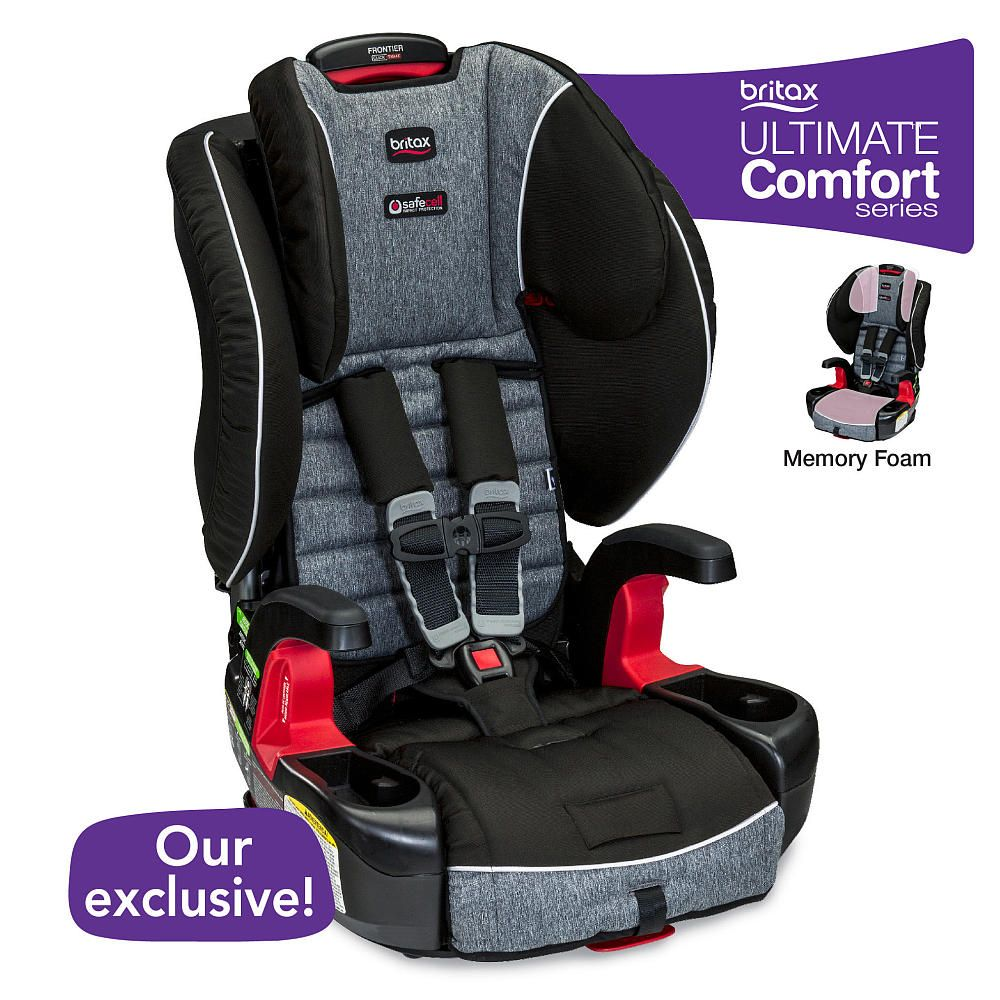 Video Review For Britax Frontier Clicktight Combination Harness 2 Booster Car Seat With Ultimatecomfort Showcasing Product Fea Car Seats Booster Car Seat Britax Frontier