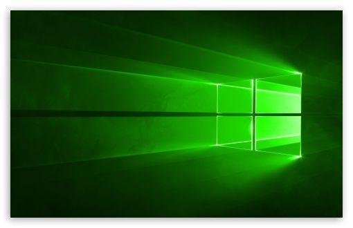 Windows 10 Green Hd Desktop Wallpaper Widescreen Fullscreen Mobile Aesthetic Desktop Wallpaper Desktop Wallpapers Backgrounds Windows Desktop Wallpaper