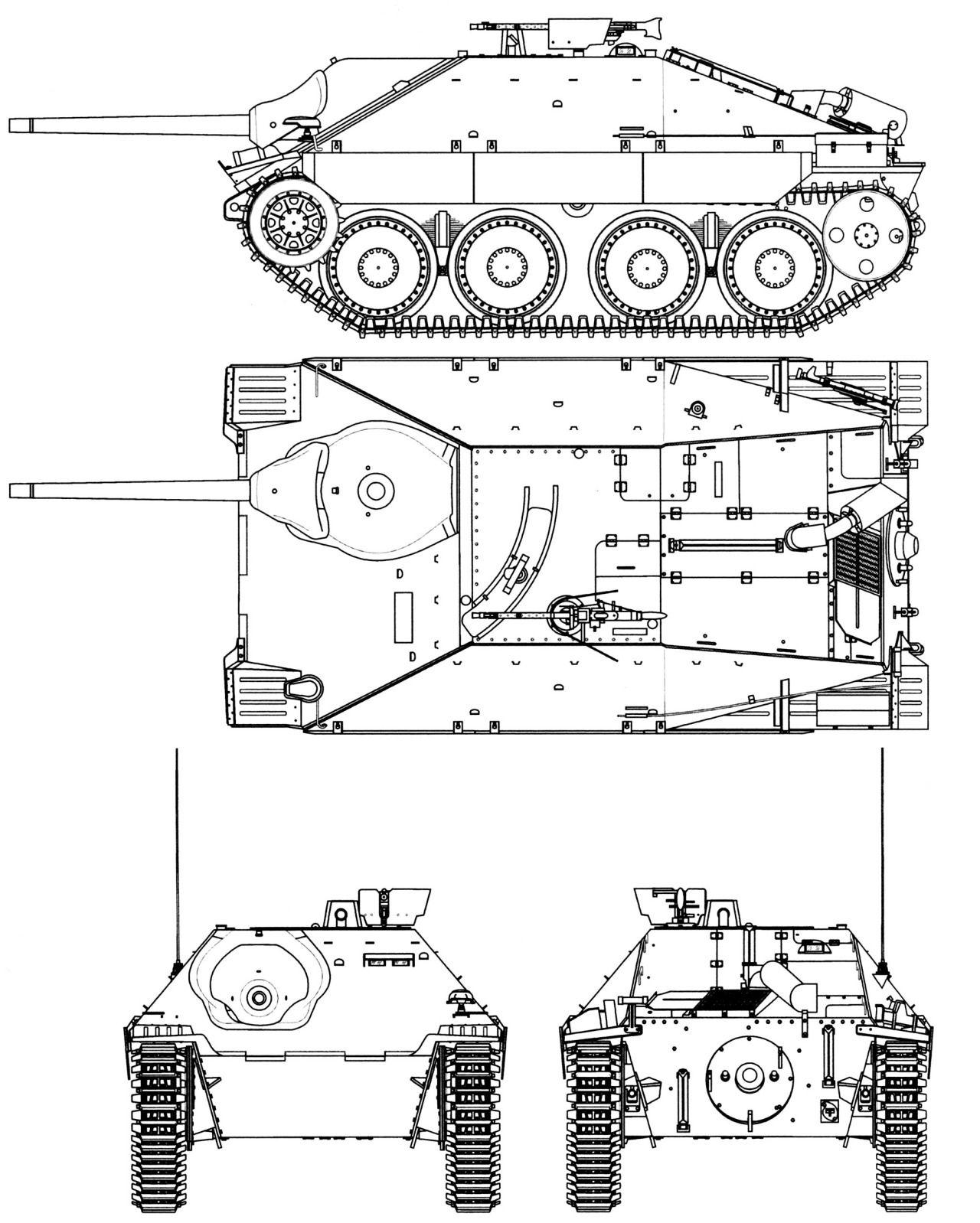 Las Cosicas Del Panzer Perfiles Del Hetzer